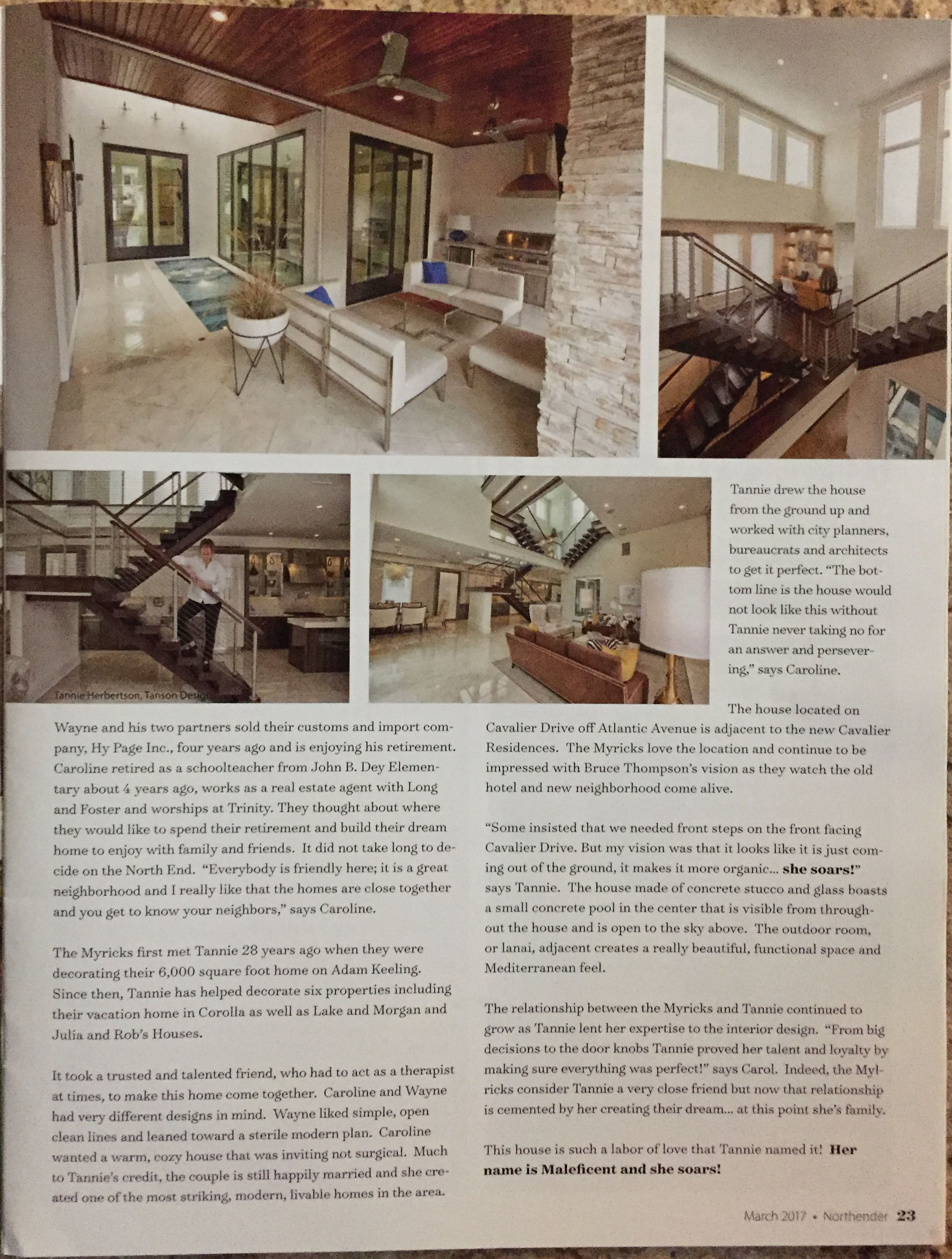 Northender Magazine Image - inside right